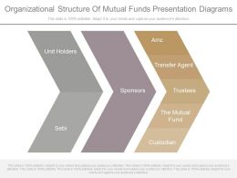 Organizational Structure Of Mutual Funds Presentation Diagrams