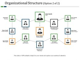 Organizational Structure Powerpoint Slide Designs