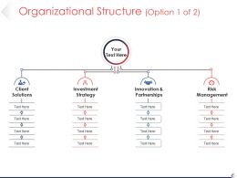 Organizational Structure Powerpoint Templates Download Template 1