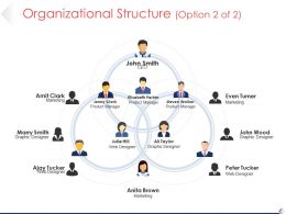 Organizational Structure Powerpoint Templates Microsoft Template 1