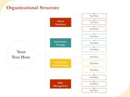 Organizational Structure R494 Ppt File Aids