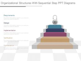 organizational_structures_with_sequential_step_ppt_diagrams_Slide01