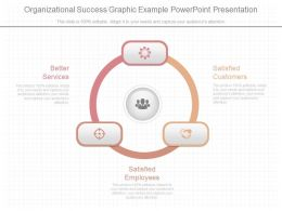 Organizational Success Graphic Example Powerpoint Presentation