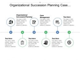 Organizational Succession Planning Case Management Business Budget Tools Cpb