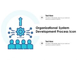 Organizational System Development Process Icon