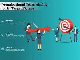 Organizational Team Aiming To Hit Target Picture
