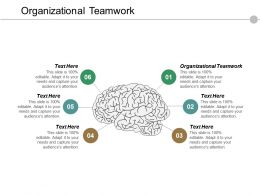 Organizational Teamwork Ppt Powerpoint Presentation File Infographic Template Cpb