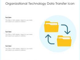 Organizational Technology Data Transfer Icon