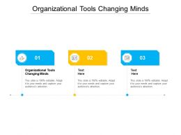 Organizational Tools Changing Minds Ppt Powerpoint Presentation Summary Shapes Cpb