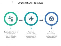Organizational Turnover Ppt Powerpoint Presentation Gallery Images Cpb
