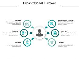 Organizational Turnover Ppt Powerpoint Presentation Infographics Master Slide Cpb