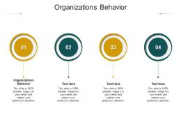 Organizations Behavior Ppt Powerpoint Presentation Pictures Demonstration Cpb