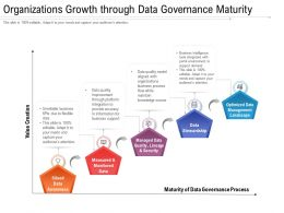 Organizations Growth Through Data Governance Maturity