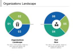 Organizations Landscape Ppt Powerpoint Presentation Icon Objects Cpb