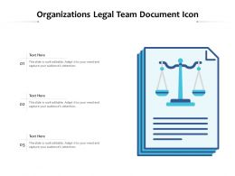 Organizations Legal Team Document Icon