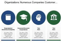 Organizations Numerous Companies Customer Economic Cooperations Improve Customer