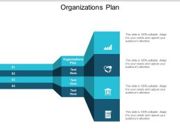 Organizations Plan Ppt Powerpoint Presentation Icon Visuals Cpb
