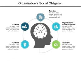 Organizations Social Obligation Ppt Powerpoint Presentation Layouts Summary Cpb