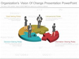 Organizations Vision Of Change Presentation Powerpoint