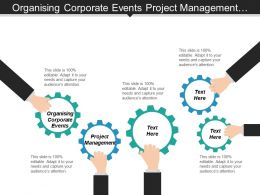 Organizing Corporate Events Project Management Social Event Planning Cpb