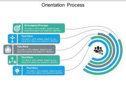 Orientation Process Ppt Powerpoint Presentation Styles Master Slide Cpb