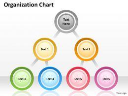 Origanization circular chart 54