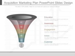 Original Acquisition Marketing Plan Powerpoint Slides Design