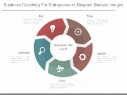 Original Business Coaching For Entrepreneurs Diagram Sample Images