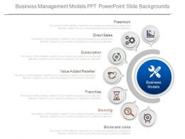 Original Business Management Models Ppt Powerpoint Slide Backgrounds