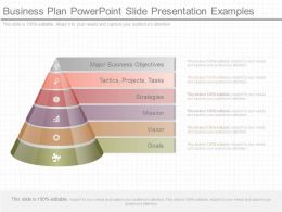 Original Business Plan Powerpoint Slide Presentation Examples