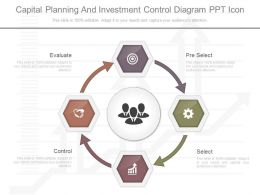 Original Capital Planning And Investment Control Diagram Ppt Icon