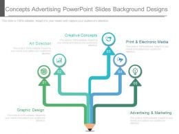 Original Concepts Advertising Powerpoint Slides Background Designs