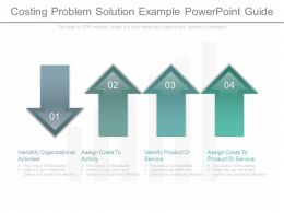 Original Costing Problem Solution Example Powerpoint Guide