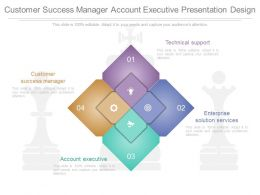 Original Customer Success Manager Account Executive Presentation Design
