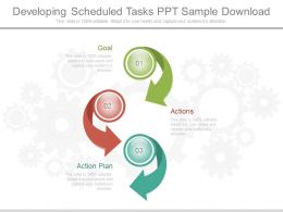 Original Developing Scheduled Tasks Ppt Sample Download