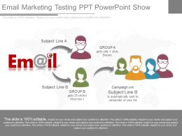 Original Email Marketing Testing Ppt Powerpoint Show