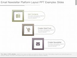 Original Email Newsletter Platform Layout Ppt Examples Slides