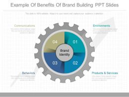 Original Example Of Benefits Of Brand Building Ppt Slides
