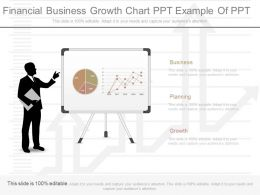 Original Financial Business Growth Chart Ppt Example Of Ppt