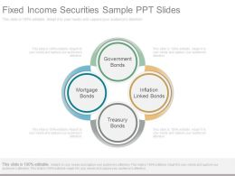 Original Fixed Income Securities Sample Ppt Slides