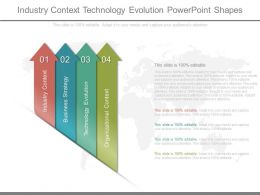 Original Industry Context Technology Evolution Powerpoint Shapes