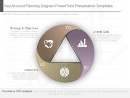 Original Key Account Planning Diagram Powerpoint Presentation Templates
