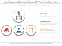 Original Load Planning And Scheduling Diagram Ppt Powerpoint Presentation