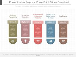 Original Present Value Proposal Powerpoint Slides Download
