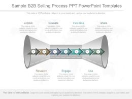 Original Sample B2b Selling Process Ppt Powerpoint Templates