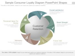 Original Sample Consumer Loyalty Diagram Powerpoint Shapes
