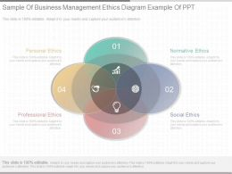 Original Sample Of Business Management Ethics Diagram Example Of Ppt