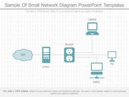 Original Sample Of Small Network Diagram Powerpoint Templates