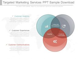 Original Targeted Marketing Services Ppt Sample Download