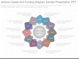 Original Venture Capital And Funding Diagram Sample Presentation Ppt